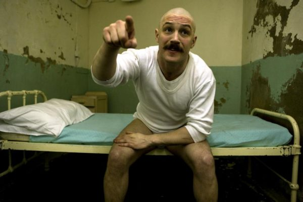 BRONSON, Tom Hardy, 2009. Ph: Dean Rogers/©Magnet Releasing/Courtesy EverettCollection